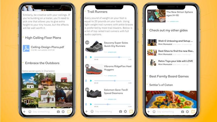 gides smartphone app