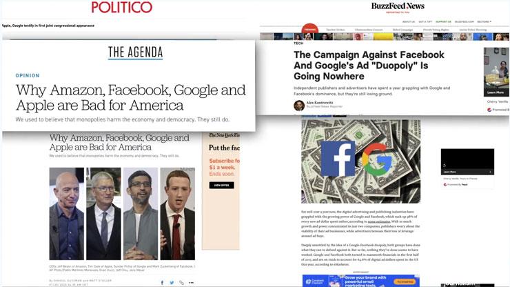 social media duopoly