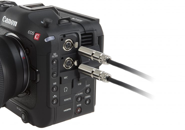 EOS C70 Professional Interface