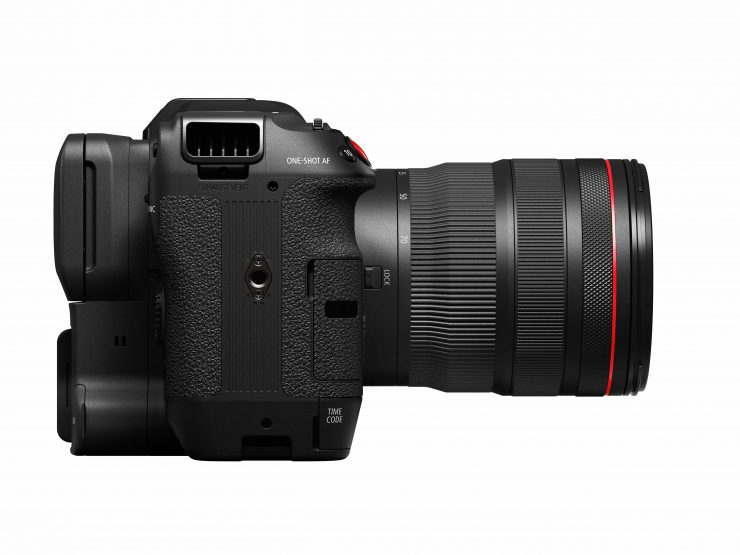 EOS C70 Right with RF 24 70mm f2 8 L IS USM