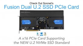 Fusion Dual U 2 SSD PCIe Card Product Overview