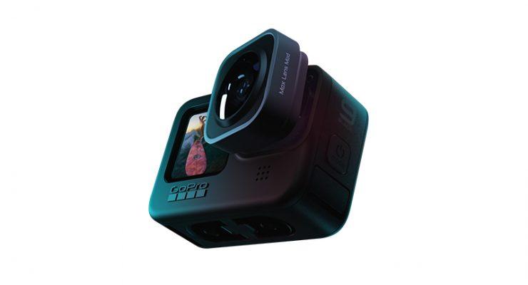 GoPro News HERO9 Black Max Lens Mod2