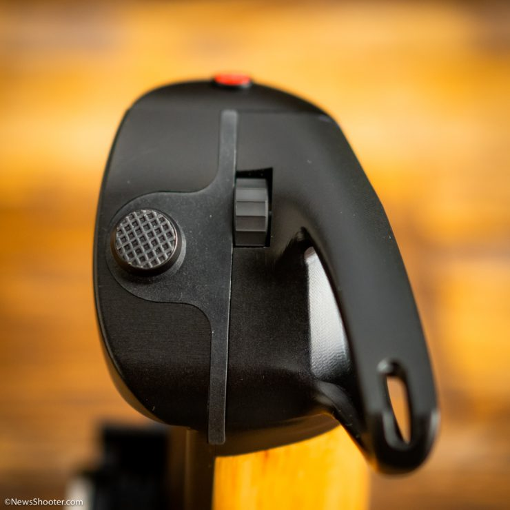 Keygrip joystick and scrolling wheel