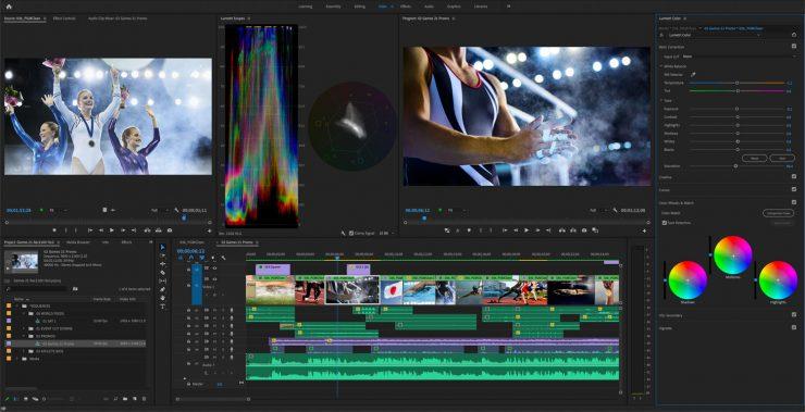PremierePro HDR ColorGrading