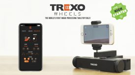 Trexo Wheels Worlds first image processing table top dolly