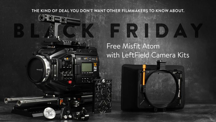 BTBF Free Misfit Atom with LeftField Camera Kits