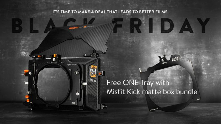 BTBF Free ONE Tray with Misfit Kick matte box bundle