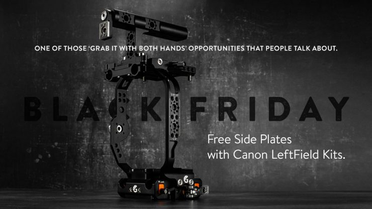 BTBF Free side plates with Canon LeftField Kits