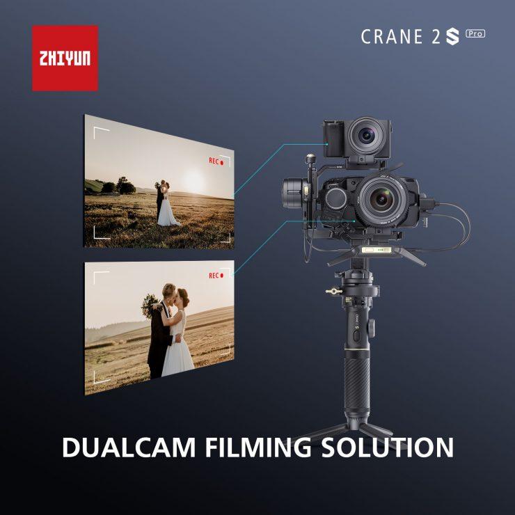 CRANE 2S Pro Package DualCam