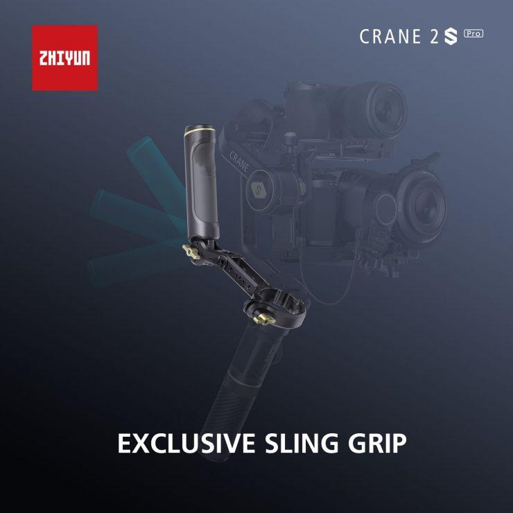 CRANE 2S Pro Package Sling Grip