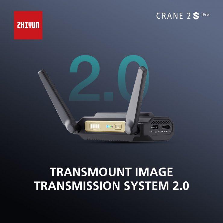 CRANE 2S Pro Package Transmount image transmission system 2