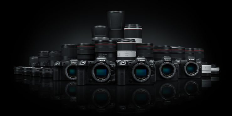 EOS R System group shot