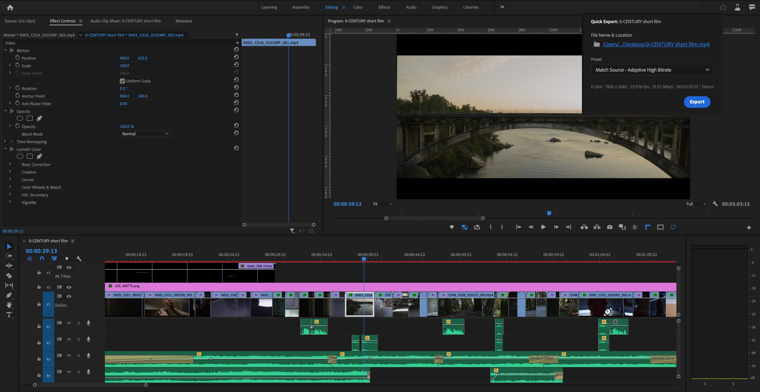 Adobe Quick Export In Premiere Pro Media Replacement In Motion Graphics Templates Newsshooter
