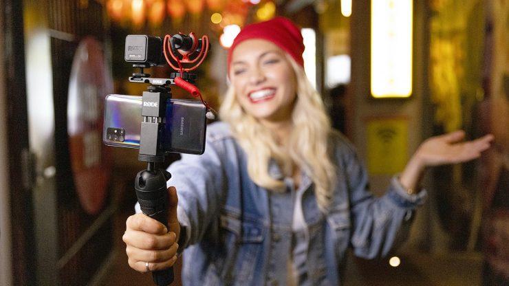 RODE VLOGGER KIT Video Micro NIGHTLIGHT RGB 16x9