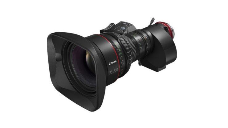 1 Canon CINE SERVO 25 250mm T2 95 Cinema Zoom Lens
