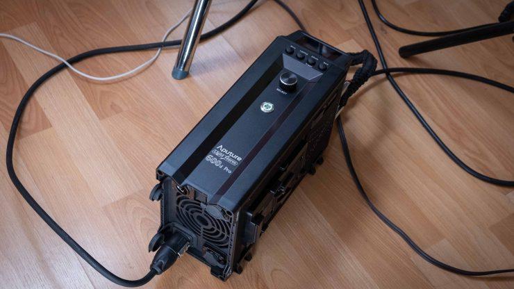Aputure LS 600d Pro Controller flat