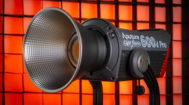 Aputure LS 600d Pro with reflector