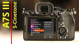Cinetone settings for the Sony A7S III