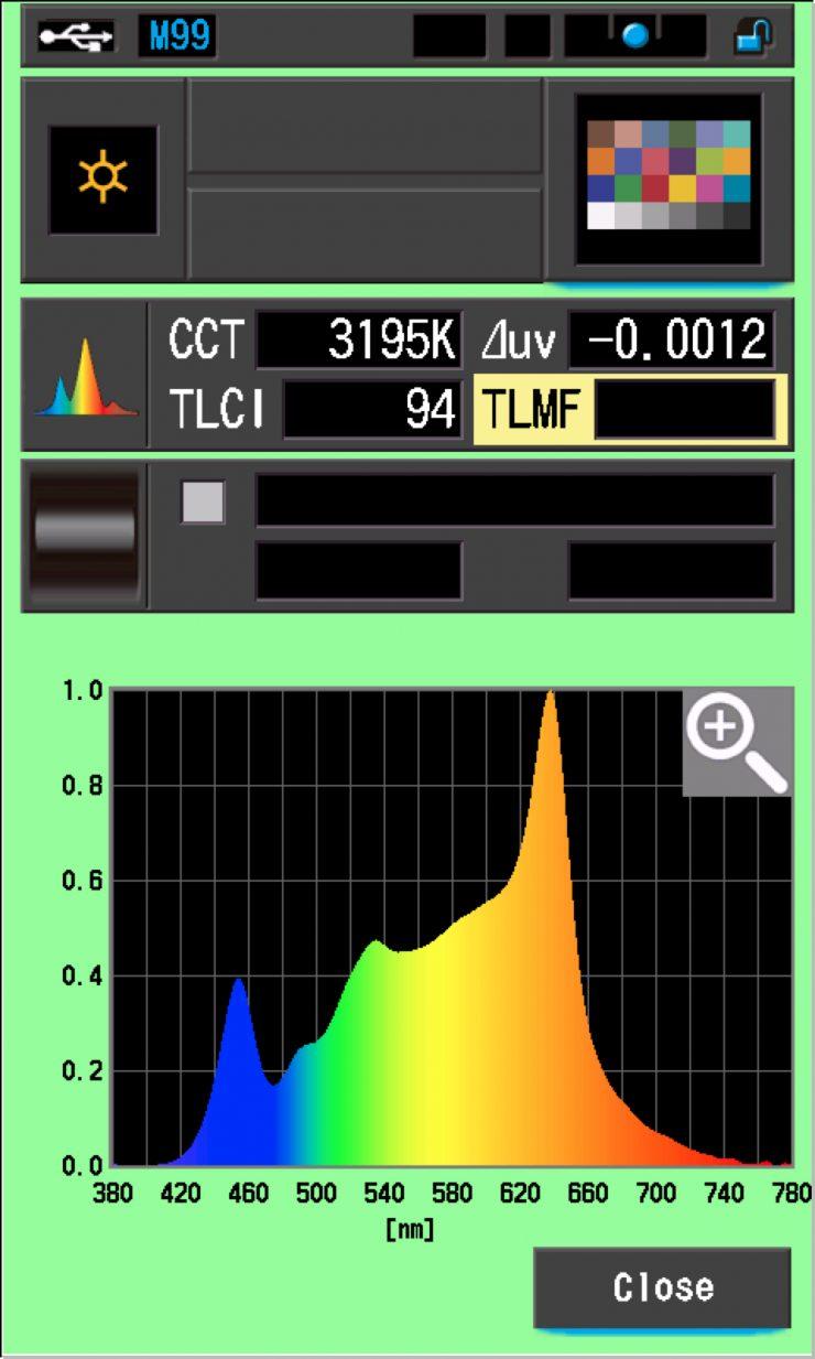 TLCI Orion 300 3200K