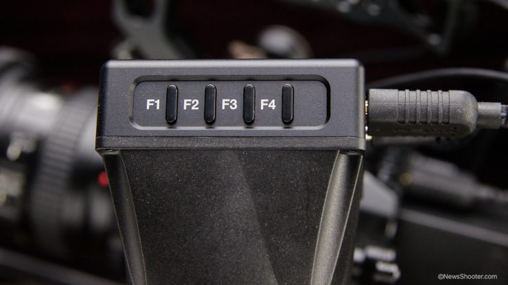 LEYE preset buttons