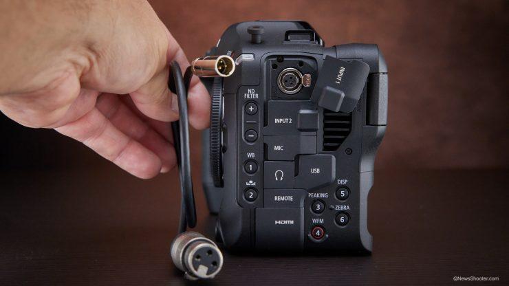 Canon C70 mini XLR