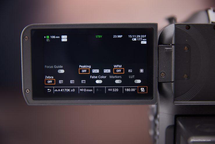 Canon C70 Assist Tools