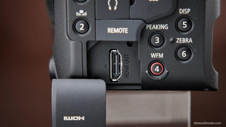 Canon C70 HDMI