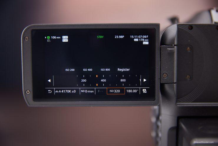 Canon C70 ISO