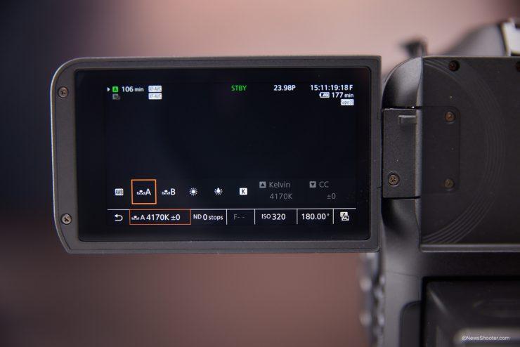 Canon C70 White Balance