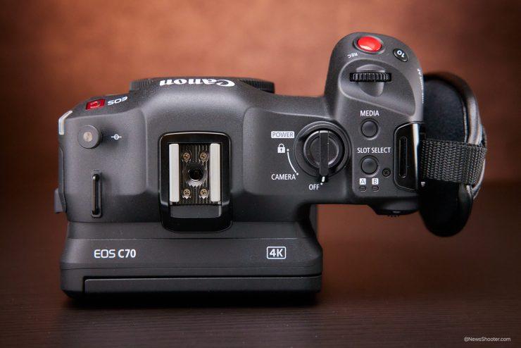 Canon C70 top