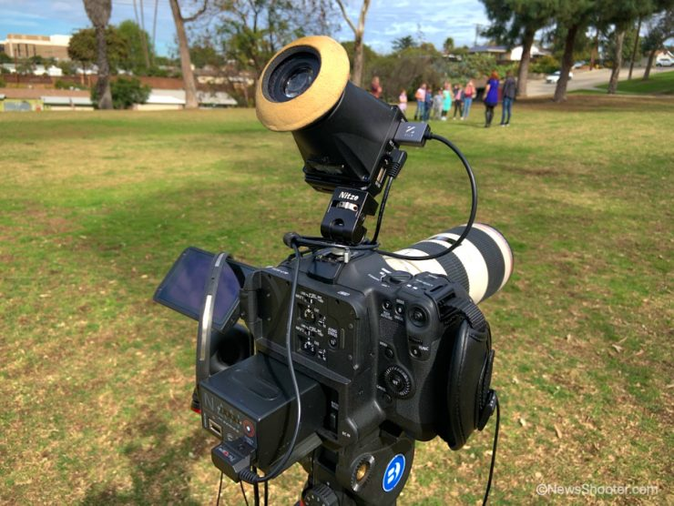 Canon C70 with EVF 1