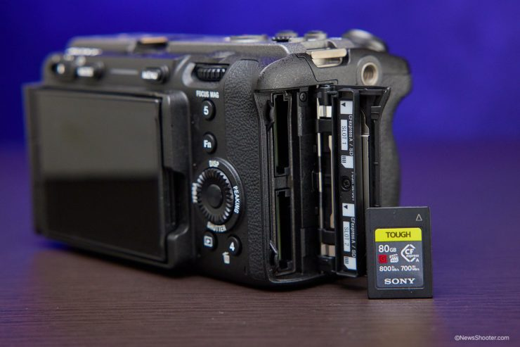 Sony FX3 CF Express A