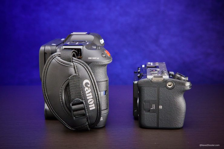 Sony FX3 Canon C70 side by side 3