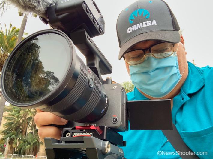 Sony FX3 Erik shooting 1