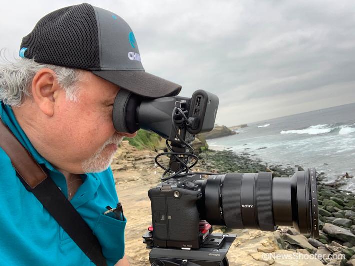 Sony FX3 Erik shooting 2