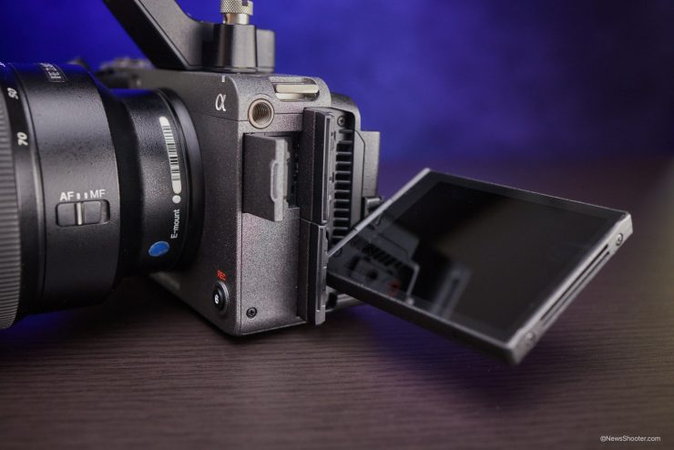 Sony FX3 LCD and connectors