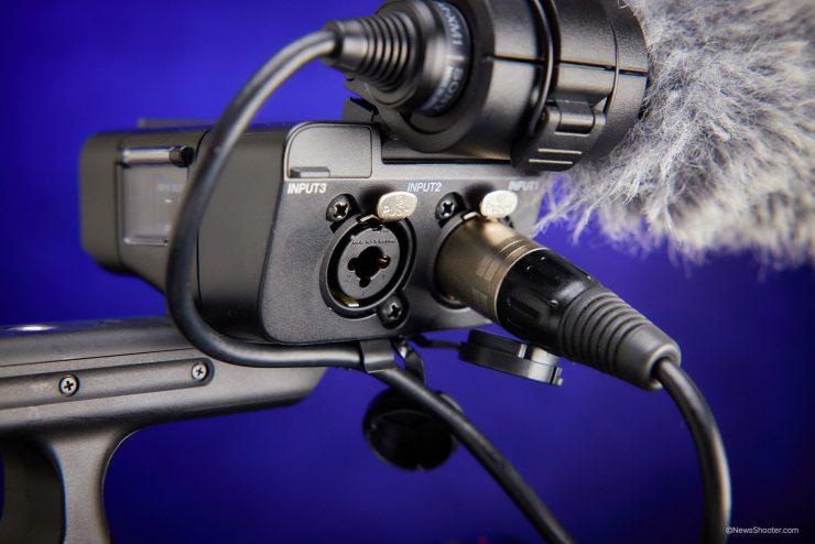 Sony FX3 XLR inputs