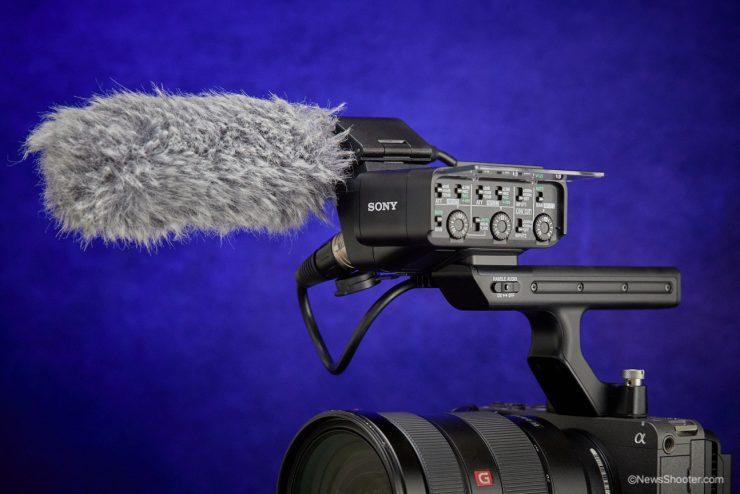 Sony FX3 handle