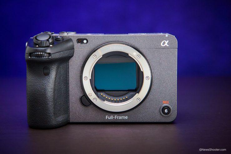 Sony FX3 sensor