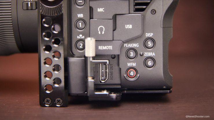 Zacuto C70 Cage HDMI Port