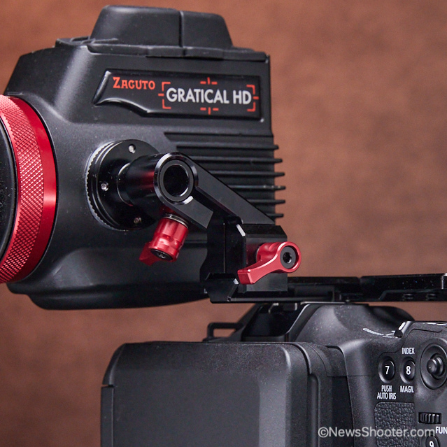 Zacuto C70 Cage Monitor arm