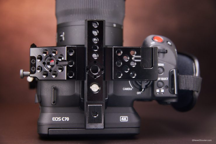 Zacuto C70 Cage top mounting point