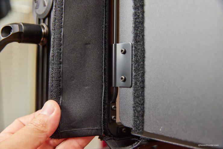 Aputure NOVA barn door Velcro open