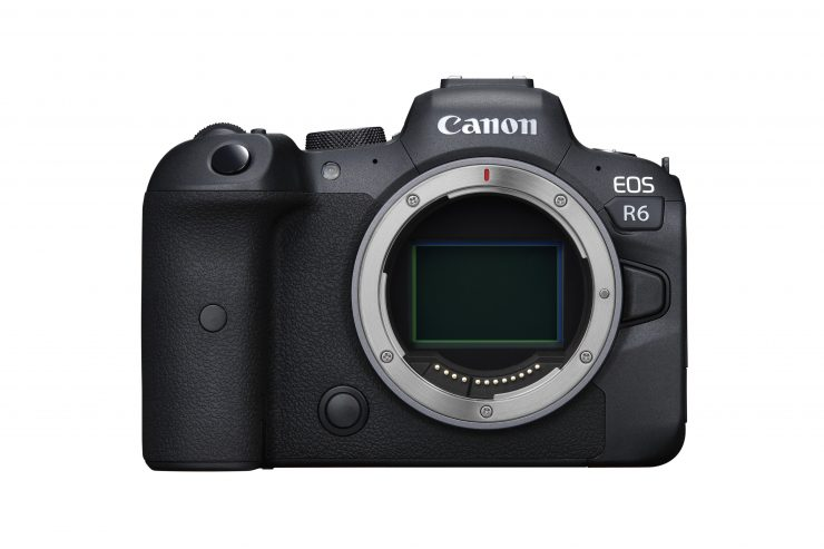 Canon EOS R6 Front BODY