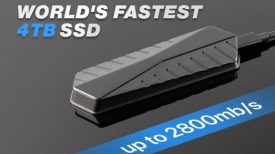 Gigadrive The fastest external SSD in the world