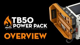 TB50 Power Pack for RED KOMODO Overview