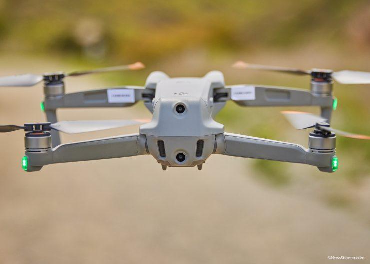 Air 2S 1 inch sensor Camera fly back 1