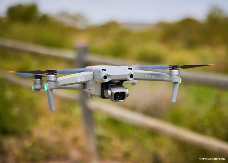 Air 2S 1 inch sensor Camera fly right
