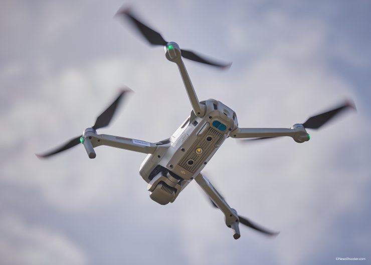 Air 2S 1 inch sensor Camera fly under