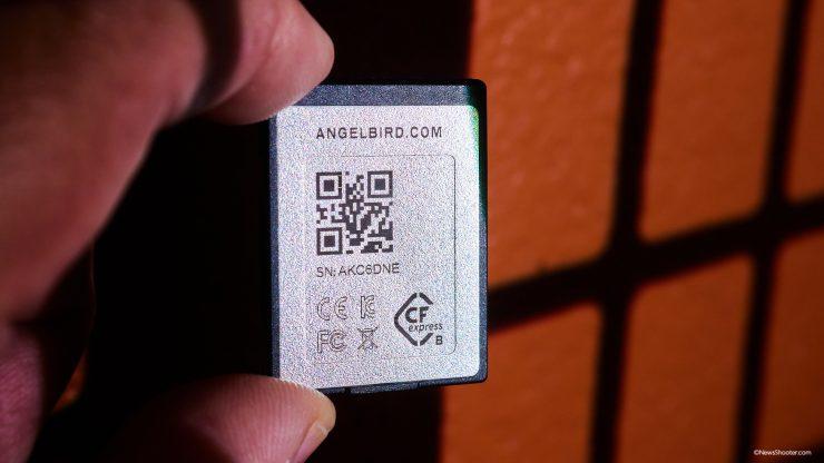 Anglebird CFexpress B 1TB back
